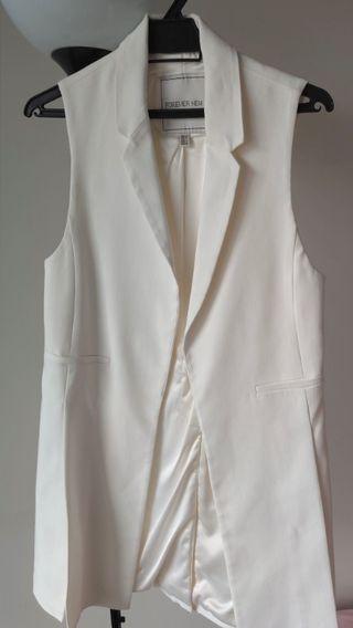 Forever New White Women Outer Garment