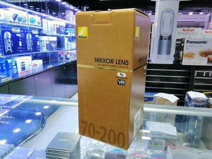 [實體店] Nikon AF-S Nikkor 70-200mm f/4G ED VR (平行進口) 議價不回