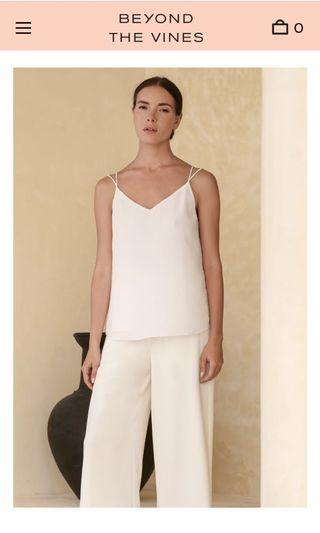 Beyond The Vines Textured Camisole Top