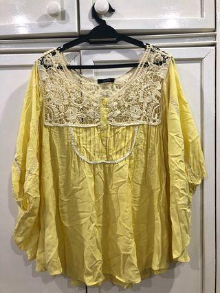 Nichii yellow blouse