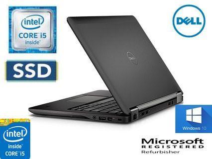 Dell Latitude E7250 (CORE I7-5TH GEN, 8GB RAM, 512  SSD)