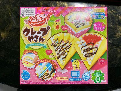 全新日本DIY食玩 法式薄煎餅套裝
