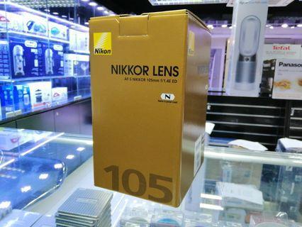 [實體店] Nikon AF-S Nikkor 105mm f/4E ED (平行進口) 議價不回