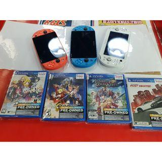 [PREOWNED] PSVITA SLIM WITH 1 GAMe of your choice