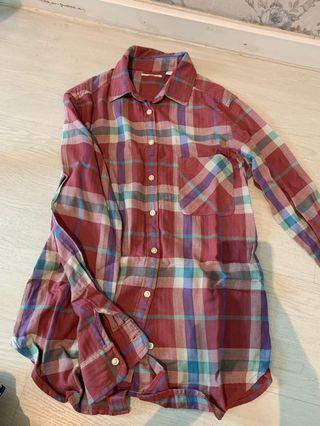 Uniqlo Checkered Flannel