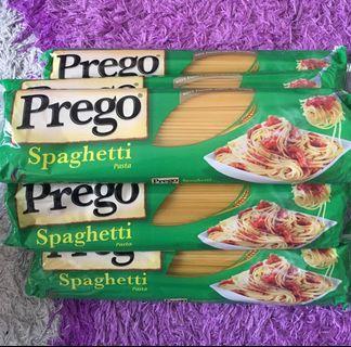 Spaghetti  prego