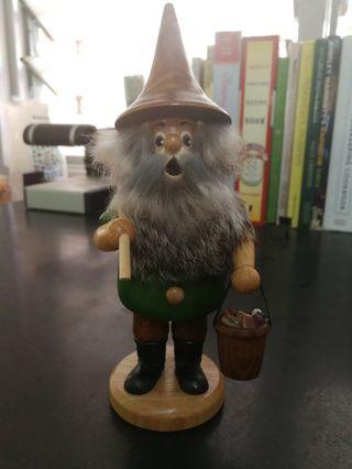 DWU - German Christmas Smoker - Mountain Gnome with Pick