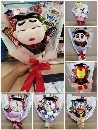 Customise Graduation Handheld Chocolate Bouquet
