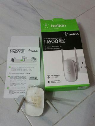 Belkin N600 DB dual-band wifi extender