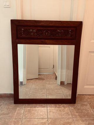 Designer Antique Hand Carved Mirror