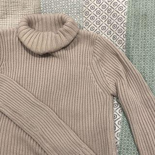 Bardot oatmeal turtle neck knitted jumper