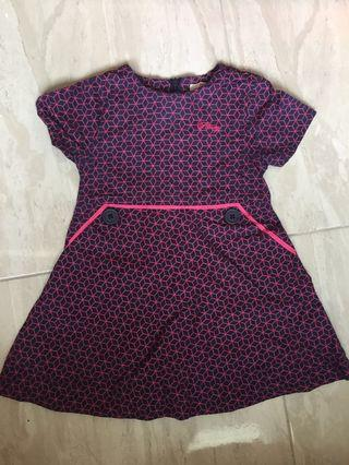 Poney Printed Dress