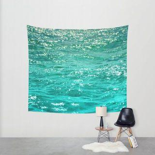 Wall Tapestry: The Sea