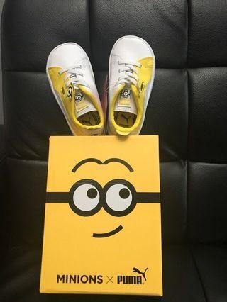 全新限定版Minions xPuma小童波鞋