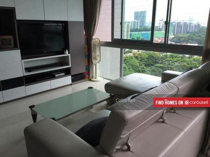 BOTANNIA 3 bedroom condominium at West Coast, Fully Furnished Cosy Home for Rent!