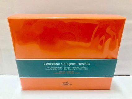 全新Hermes Collection Colognes 古龍水 4支 x15ml 套裝