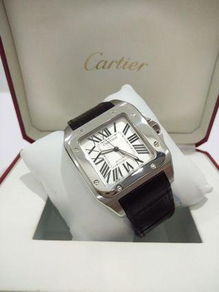 Authentic Cartier Santos 100 XL