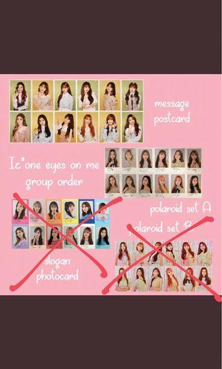 (PRE-ORDER) IZ*ONE OFFICAL CONCERT GOODS