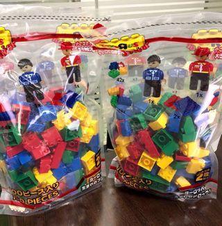 日本兒童大粒LEGO積木玩具
