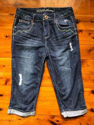Guess? Girl's Cropped Jeans