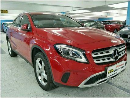 MERCEDES BENZ GLA180 URBAN (R18 LED)