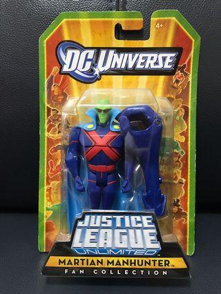 New DC Universe Justice League Unlimited Matian Manhunter
