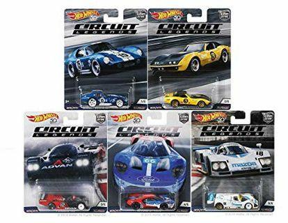 Hot Wheels 50th Anniversary with a Car Culture Circuit Legends