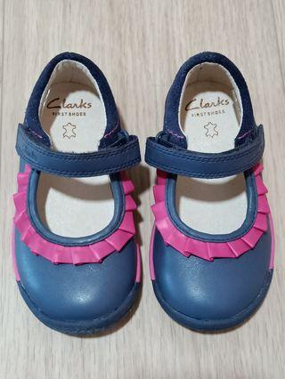BN Clarks Girls Shoes