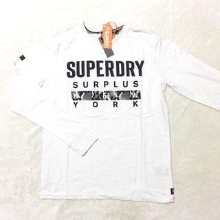 L,XL : Superdry Long Sleeve Tee