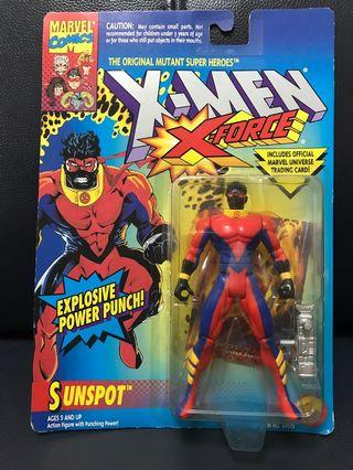 New Marvel X-Men Figure Sunspot (with explosive power punch)