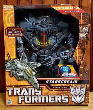 Hasbro Transformers Movie Hunt for The Decepticons HFTD Leader Class Starscream & FWI upgrade kit