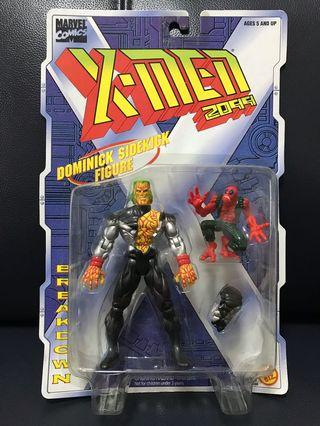 New Marvel X-Men Figure Breakdown (with Dominick sidekick figure)