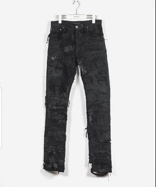 """Undercover 85 Jeans - AW05 """"Arts and Crafts"""""""