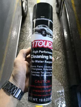 One Touch Cleaning wash