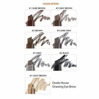 PROMO!!! ETUDE HOUSE DRAWING EYEBROW 100% ORIGINAL