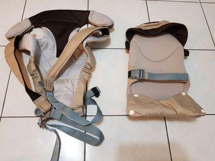 (大降價)康貝 COMBI SK-A3 3ways  嬰兒揹巾 有新生兒專用靠墊 全護型背巾 揹巾
