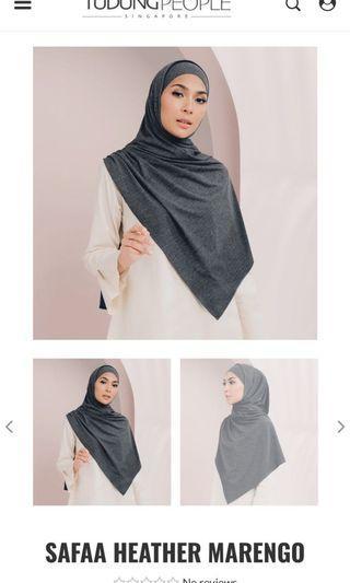 Tudungpeople safaa jersey shawl