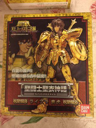 聖鬥士 星矢 聖衣神話 聖衣裝著 黃金聖鬥士 十二宮 - 天秤座 1隻 童虎 (升龍拳)