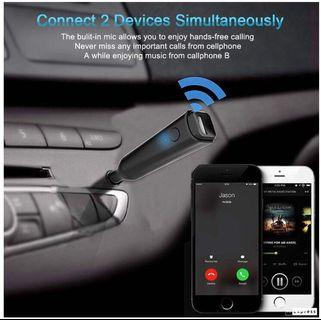 Mini wireless 5.0 music reciver/portable handfree phone call & music streaming for home/car use