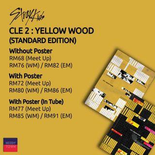 (PRE-ORDER) STRAY KIDS - CLE 2: YELLOW WOOD
