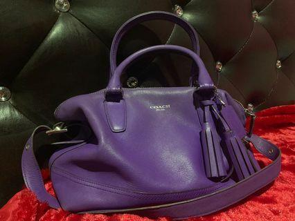 Coach Leather Legacy Molly Satchel