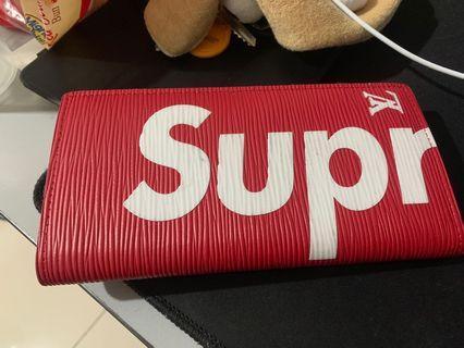 USED Supreme X LV Wallet