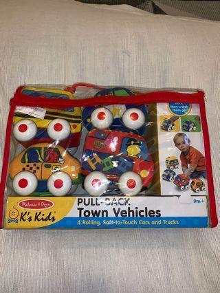 Melissa & Doug K's Kids Town Vehicles