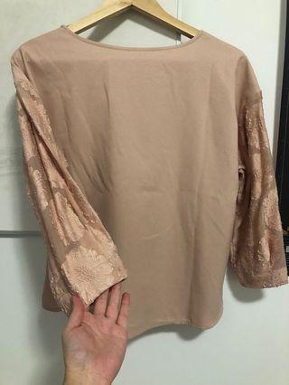 GU Detailed Sleeve Blouse