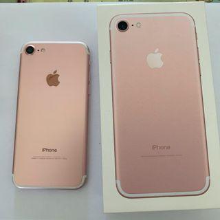 Apple iPhone 7 128GB 玫瑰金色