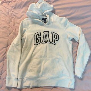 🚚 Gap 日本 白色 帽T