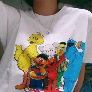 🚚 Kaws x Sesame Street Top