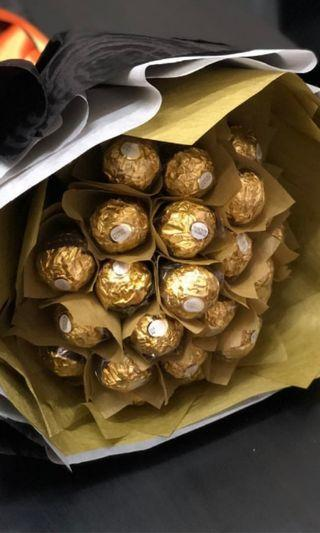 Father's day | Chocolate bouquet | Rocher bouquet