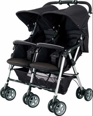 康貝 雙人嬰兒車