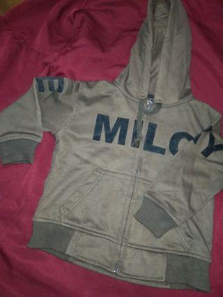 Jaket Baby Milo